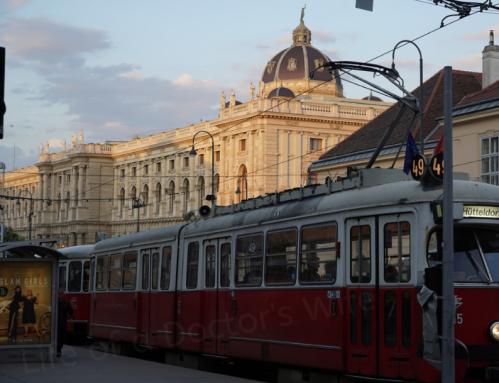 Vienna streetcar w